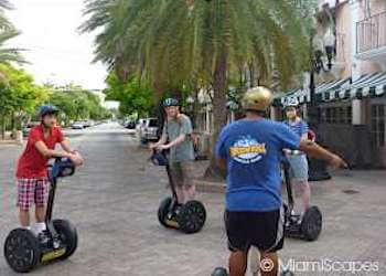 Riding Segways through South Beach