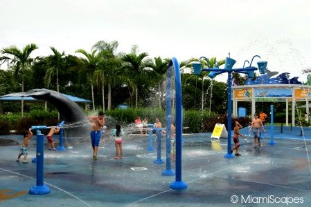 Water Park And Splash Zones At Zoo Miami