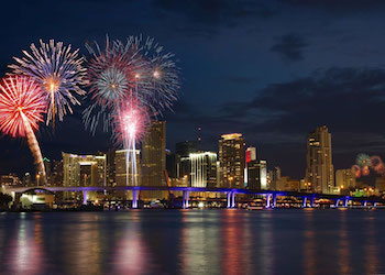 4th of July Fireworks at Bayfront Park