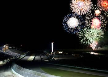 4th of July Fireworks at Homestead Miami Speedway