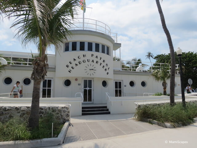 Miami Art Deco District MB Patrol Headquarters