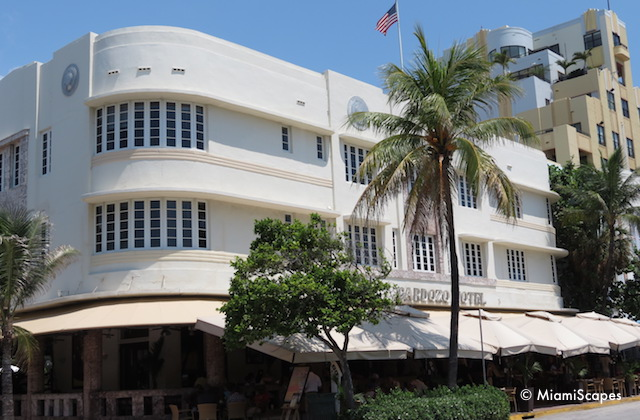 Miami Art Deco Rounded Corners: The Cardozo Hotel