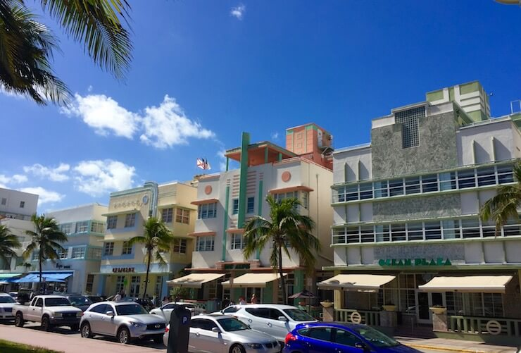 Art Deco District Ocean Drive