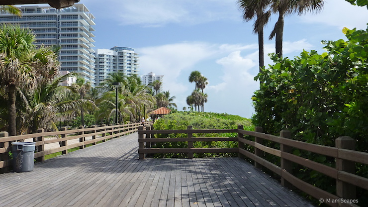 Miami Beach elevated Boardwalk