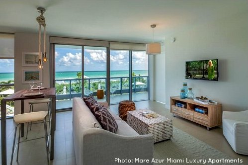Miami Beach Vacation Rental: Mare Azure Luxury Apartments