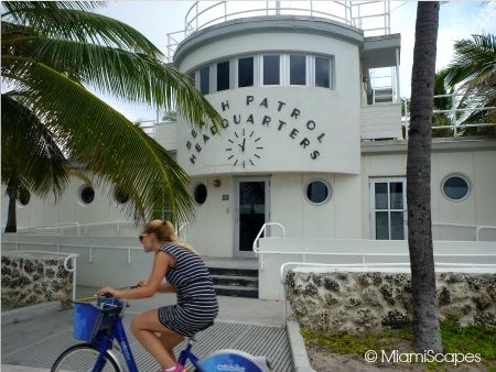 Miami Beach Patrol Headquarters from the Miami Beach Walk