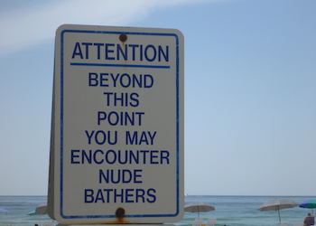 Clothing Optional Beaches