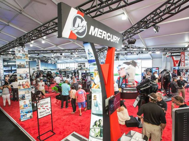 Miami Boat Show Trade Vendor Pavillions