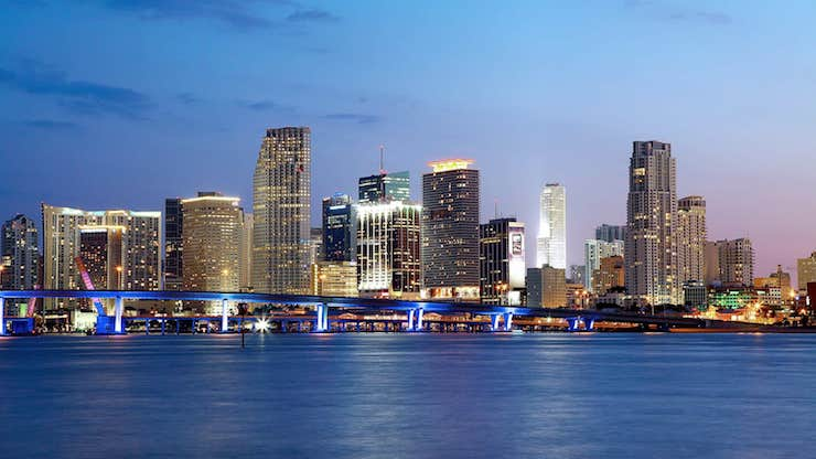 Downtown Miami Hotels Nightviews