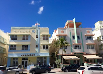 Miami Art Deco Hotels in Ocean Drive