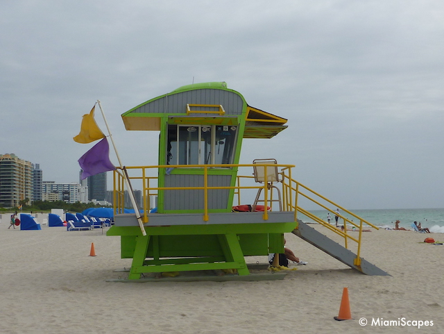 Lifeguard Tower on 10th Street