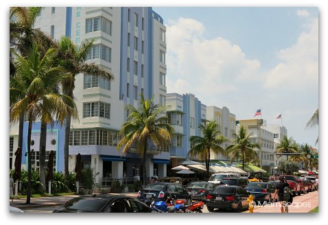 Ocean Drive and 6th Street Miami