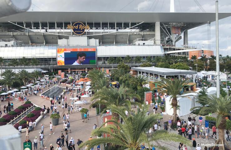 Miami Open Tennis at Hard Rock Stadium