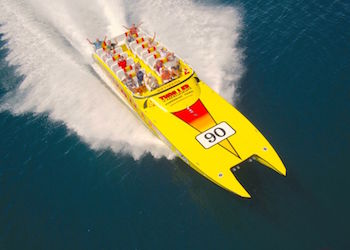 Miami Sightseeing Cruises: Thriller Speedboat