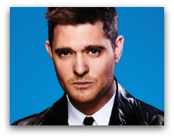 Michael Buble in concert in Miami