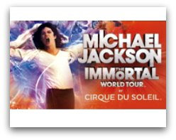 Cirque du Soleil Michael Jackson The Immortal Tour