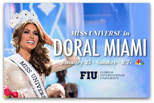 Miss Universe in Doral Miami