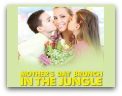Jungle Island Mothers Day Brunch
