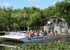 Airoboat tour at Everglades Safari Park