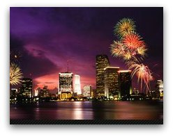 New Years Eve Fireworks Cruise Party Miami