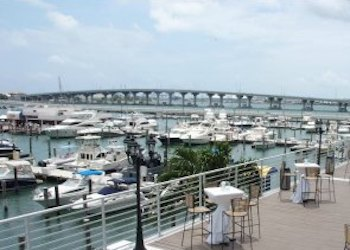 Biscayne Bay views from Double Tree by Hilton