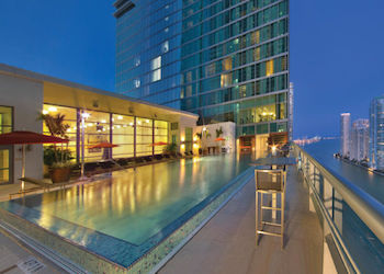 JW Marriott Marquis Miami Pool