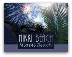 New Years Eve at Nikki Beach Miami