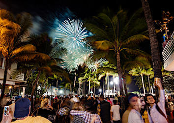 4th of July Fireworks in South Beach