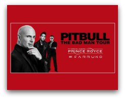 Pitbull The Bad Man Tour in Miami