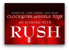 Rush Clockwork Angels  tour Miami