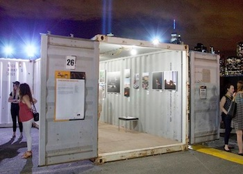 Art BAsel Satellite Miami Container