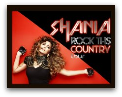 Shania Twain in Miami