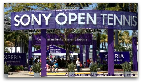 Entrance - Sony Open in Miami