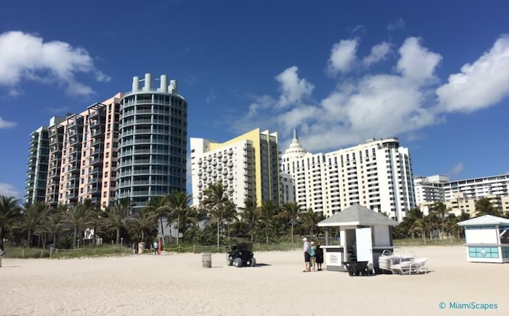 South Beach - The Beach at Lummus Park