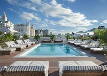 South Beach Boutique Hotels: The Redbury rooftop pool