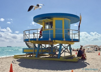 Art Deco At The Beach: Lifeguard Towers