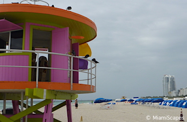 Lummus Park Beach Lifeguard Tower