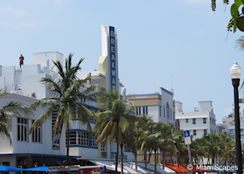 Ocean Drive Art Deco Buildings