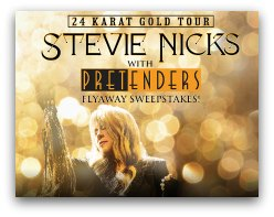 Stevie Nicks 24 Karat Gold Tour in South Florida