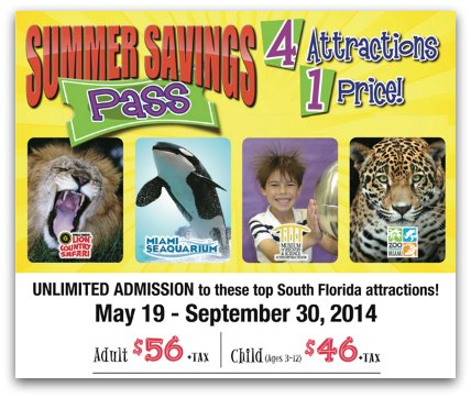 Summer Savings Pass 2014