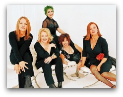 The Go Gos in concert in Miami
