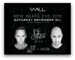 New Years Eve Fparty at Wall Nightclub at the W in Miami
