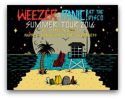 Weezer and Panic in Miami