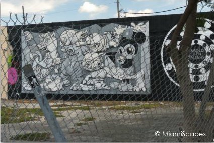 Wynwood Old Warehouses turn Galleries