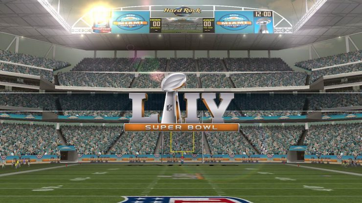 Superbowl LIV in Miami