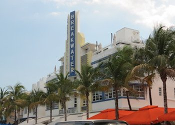 Art Deco District Buildings: Ocean Drive South of 10th