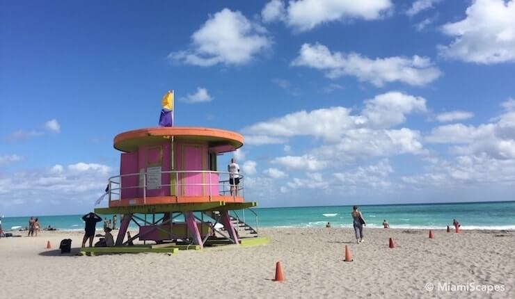 April Beach Weather in Miami