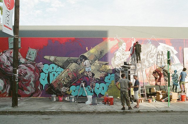 Art Basel Miami Beach Wynwood Murals