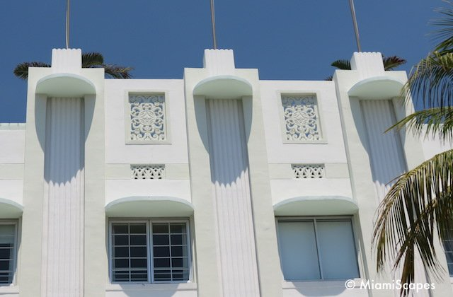 Classic Art Deco reliefs: The Carlyle
