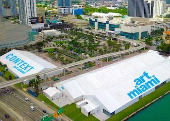 Art Miami and Context location on Biscayne Bay